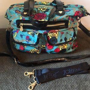 Betsey Johnson Key to happiness large bag
